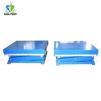 High Quality 2 Tone Stationary Scissor  Lift Tables
