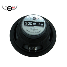 I Key Buy 6.5 inch 4Ohm 300W Auto Loudspeakers Multimedia Subwoofer Rubber Edge Speakers