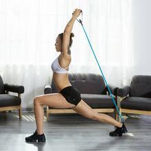 120см растяжка йога сопротивление группы эластичной полосы фитнес-тренировки Упражнение трубы тянуть веревку