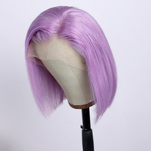 150% Density New Design Women Lovely Youth Women's Short Human Hair Lace Wig Bob style wigs for white women