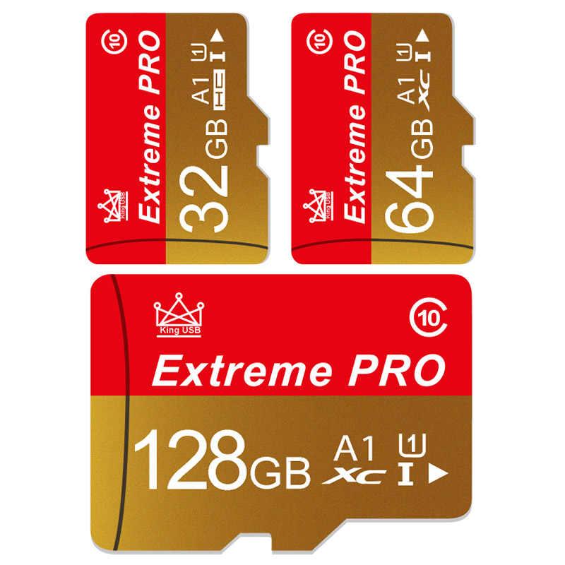 Hadiah Adaptor Kartu Memori Flash 4GB 8GB 128GB Tarjeta Micro SD Card 16GB 32GB Memory Stick USB Pen Drive TF Card untuk Ponsel