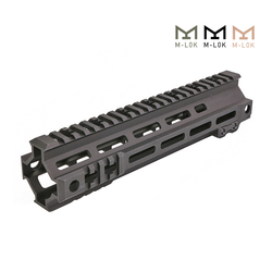 Carril Modular táctico 7 9,5 pulgadas MK4 M-LOK guardamanos Picatinny DDC BK OD M4 AEG tiro accesorios de caza airsoft
