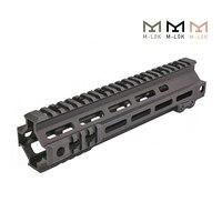 Tactical Modular Rail 13 9.5 Inch MK4 M-LOK Handguard Picatinny DDC BK OD M4 AEG Shooting Airsoft Hunting Accessories