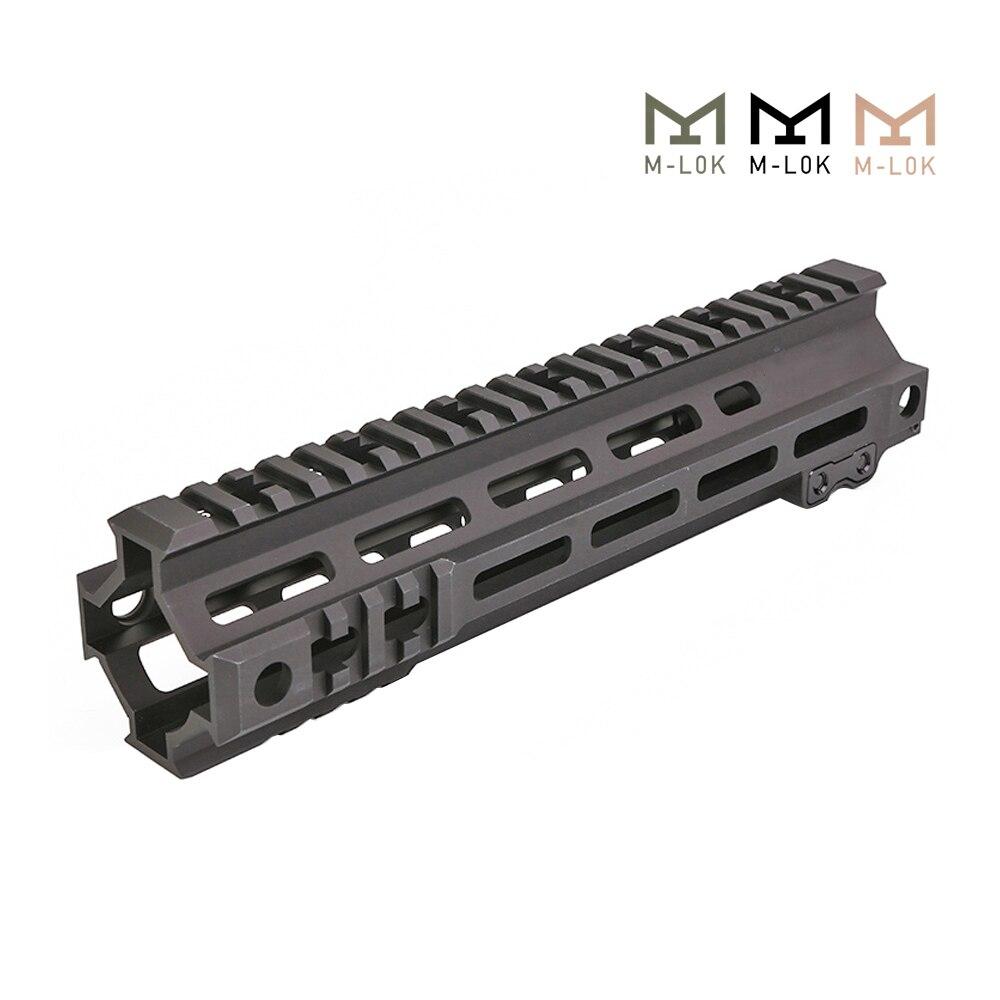 Tactical Modular Rail 7 9.5 Inch MK4 M-LOK Handguard Picatinny DDC BK OD M4 AEG Shooting Airsoft Hunting Accessories
