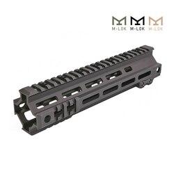 Tactical Modulare Schiene 7 9,5 Zoll MK4 M-LOK Handschutz Picatinny DDC BK OD M4 AEG Schießen Airsoft Jagd Zubehör