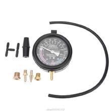 Silnik samochodowy manometr próżni wysokiej precyzji miernik do układu paliwowego uszczelnienie wycieku Tester narzędzia z pudełkiem AG05 21 Dropshipping tanie tanio TCAM NONE CN (pochodzenie) 1 9 Cali i Pod ANALOG 49 PSI i Pod 910741153 Car Engine Vacuum Pressure Gauge Plastics Metals