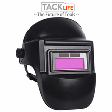 TACKLIFE Skull Solar Auto Darkening Adjustable Range 9-13 MIG MMA Electric Welding Mask Helmet Welding Lens for Welding Machine