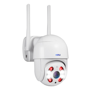 Image 5 - Kerui Dome IP Camera HD1080P WIFI Alarm IP Camera PTZ Rotation Home Security Surveillance With IR Night Vision Motion Detection
