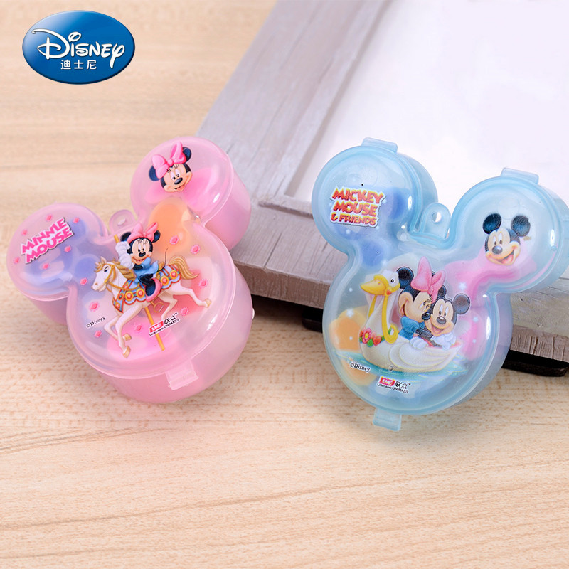 Disney Cartoon Styling Eraser Stationery Mickey Minnie Cute Rubber Creative School Supplies Prizes For Kids