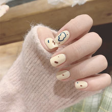 24 шт накладные ногти с градиентом