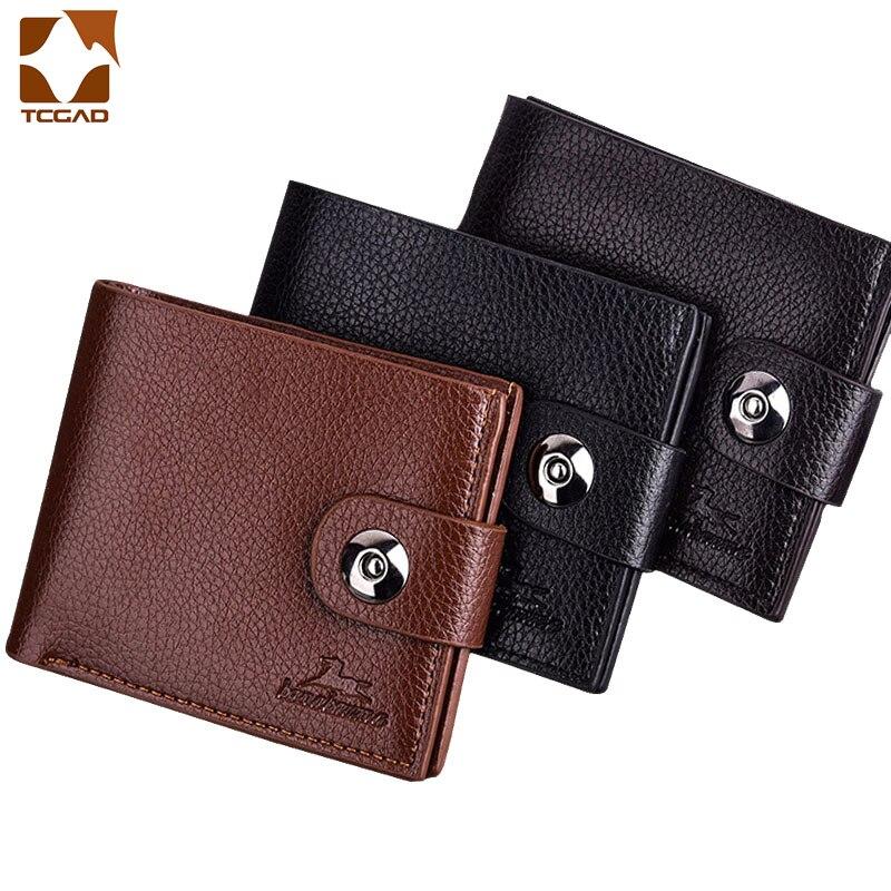 men's wallet for men billeteras para hombre wallet leather men portfel cartera hombre Purse portafoglio uomo heren portomonee