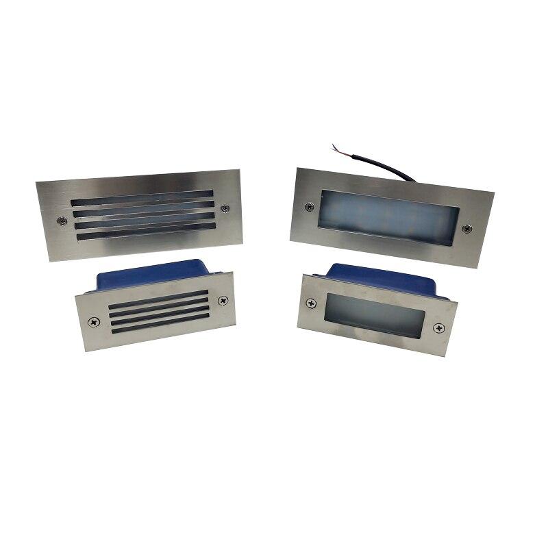 IP65 Ondergrondse Licht 12 Led 15 Led Trap Licht Stap Licht Verzonken Begraven Lamp Indoor Outdoor Trap Stap Lichten 85 -265V