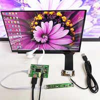 Módulo táctil capacitivo kit1920x1080 para Raspberry Pi de coche, pantalla de 13,3 pulgadas, IPS, HDMI, LCD, 3 y 10 puntos, Monitor táctil capacitivo