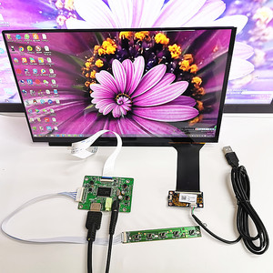 13.3 inch display capacitive touch module kit1920x1080 IPS HDMI LCD Module Car Raspberry Pi 3 10 point capacitive touch Monitor(China)