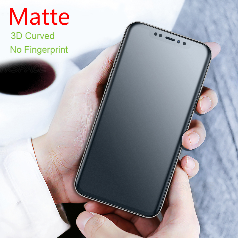 3D Full Cover Soft Matte Hydrogel Film For Iphone X XS MAX XR 11 Pro Max 6 6s 7 8 Plus Front Back Frosted Screen Protector