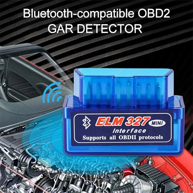 Elm327 Bluetooth V1.5 V2.1 Obd2 Scanner Code Mini OBD2 Automobile Detector Code Reader Obd2 Car Diagnostic Scanner Repair Tools 2