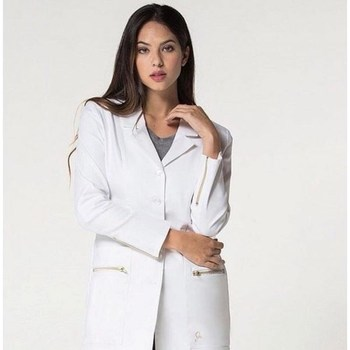 New Arrival Hospital Doctor's Clothing Women Long Sleeves Medical Uniform