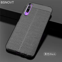 For Huawei Honor 9X Case Soft Silicone Leather Anti-knock Bumper Cover Pro / BSNOVT