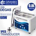 Nettoyeur à ultrasons numérique 60W Sonicator bain 40Khz degas pour or argent bijoux lunettes collier jade oxydes rouille huile rondelle|Nettoyeurs à ultrasons| |  -