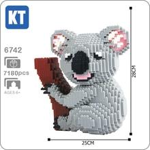 Xizai 6742 Cartoon Koala Bear Koalas Animal Tree 3D Model DIY Mini Micro Buildin