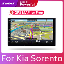 ZaiXi 7 HD 1080P IPS LCD Screen Android 8 Core For Kia Sorento 2002~2009 Car Radio BT 3G4G WIFI AUX USB GPS Navi Multimedia