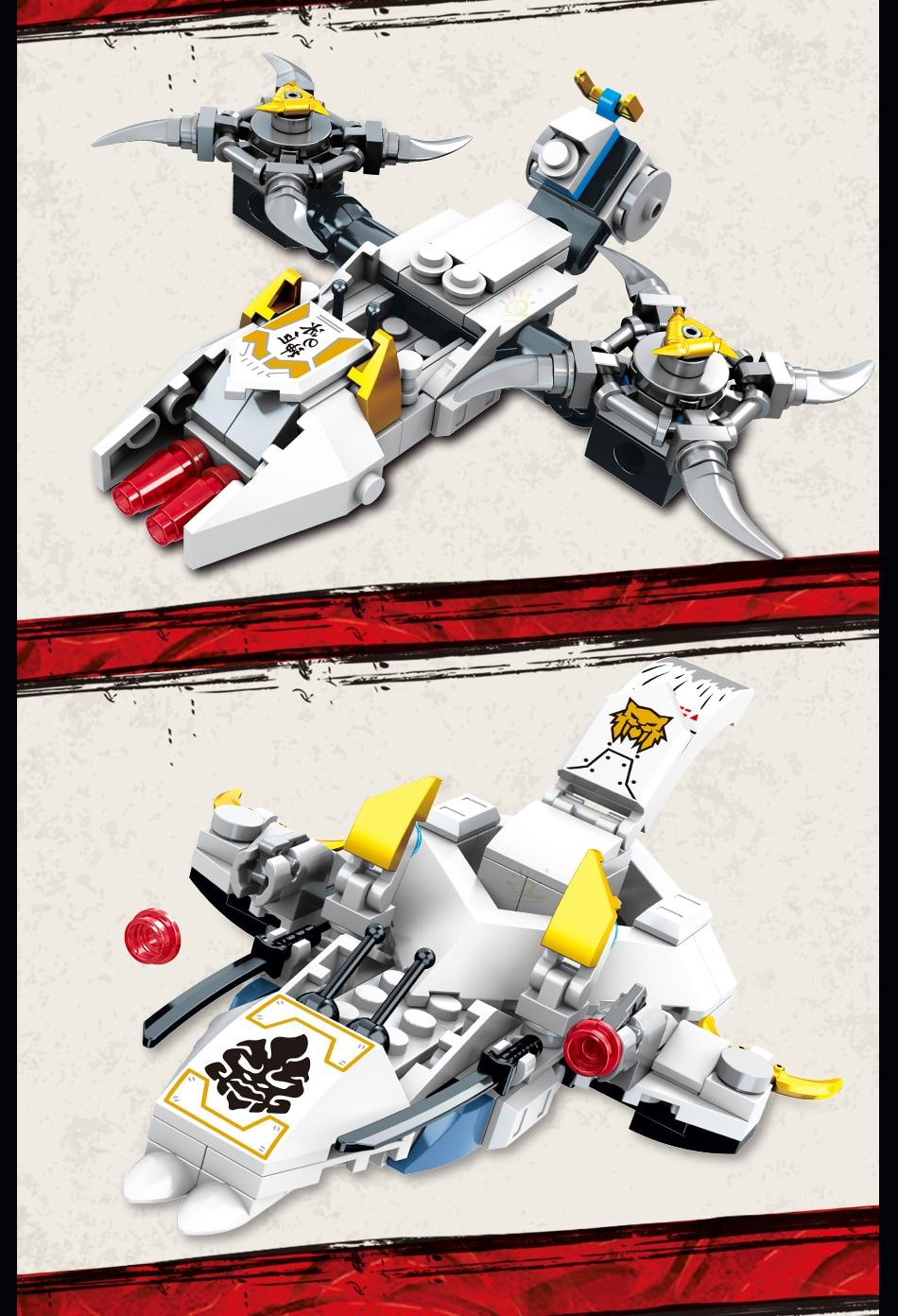 """конструктор huiqibao """"робот-трансформер"""", 950 шт., 8 в 1"""