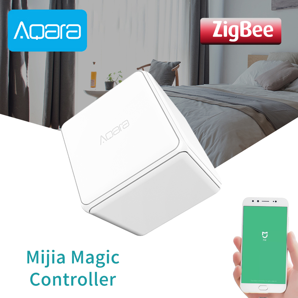 Aqara Magic Cube Controller Original Zigbee Controlled Six Actions Remote Control Switch Smart Home For Mijia Mi Home APP