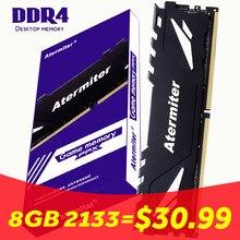 Atermiter 32GB 16GB 8gb 4gb PC Memoria RAM Memoria para computadora de escritorio de DDR4 PC4 4G 8g 16g 2400Mhz 2666Mhz DIMM 3000, 2133 MHZ