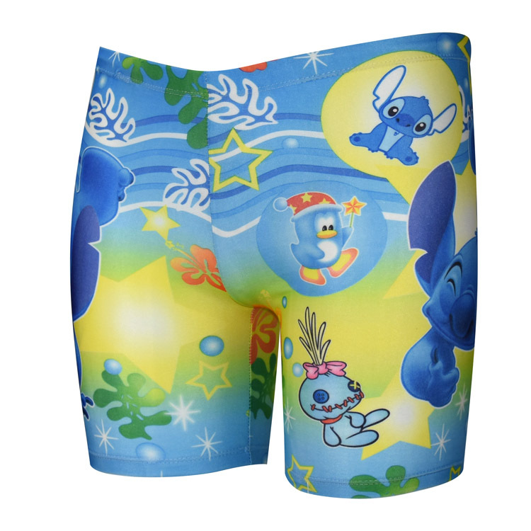 New Style Quick-Dry CHILDREN'S Swimming Trunks Bathing Suit Short Boy Pants Boxer Bubble Hot Spring Swimming Trunks Cartoon Stud