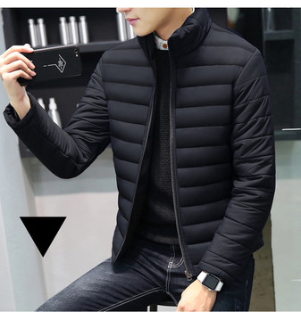 MRMT 2020 Brand Autumn Winter New Men's Jackets Collar Thickened Overcoat for Male Down Cotton Clothes Jacket Clothing Garment - discount item  49% OFF Parkas
