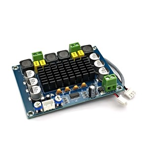 Image 4 - NEUE TPA3116 Dual kanal Stereo High Power Digital Audio Power Verstärker Bord TPA3116D2 Verstärker 2*120W Amplificador DIY