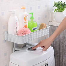 Home Bathroom Storage Rack Strong Sucker Cosmetic Toilet Paper Box For Closestool Organizer Egp055