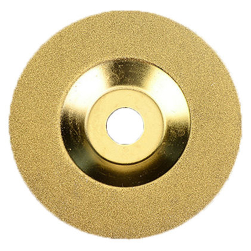 Glass Tiles Cutting Wheels Diamond Disc Glass Angle Grinder Brick Porcelain Granite Gold 100mm