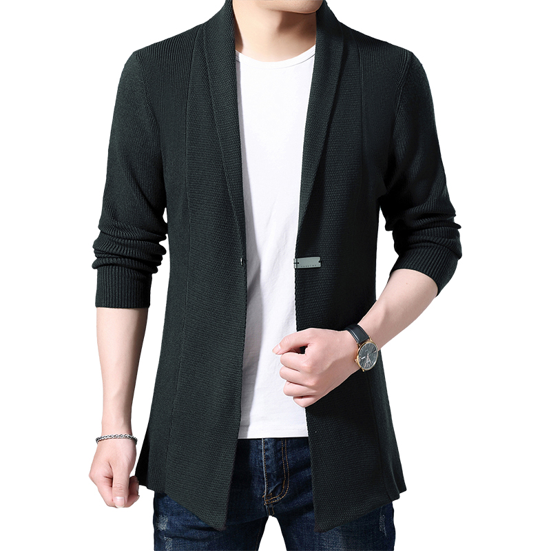 Cardigan Men Casual Knitted Cotton Wool Sweater Men Clothes 2020 Autumn Winter New Mens Sweaters and Cardigans Coat