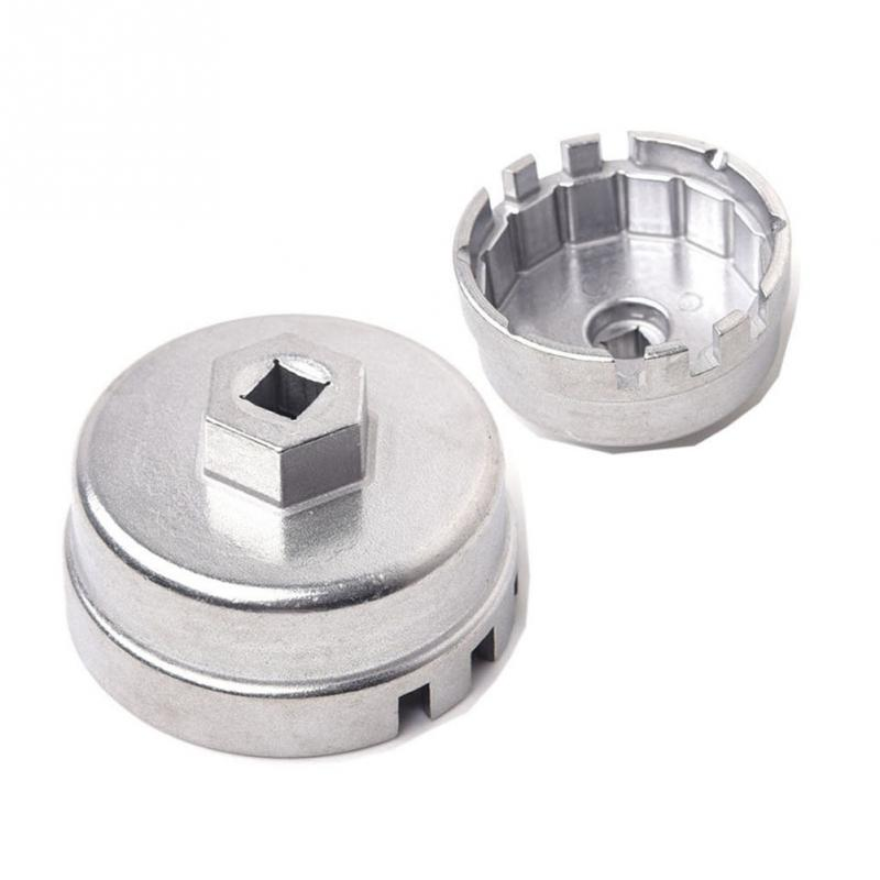 Professional Aluminum Car Oil Filter Wrench Hattype Wrench for Toyota Prius Corolla Rav4 Car Accessories