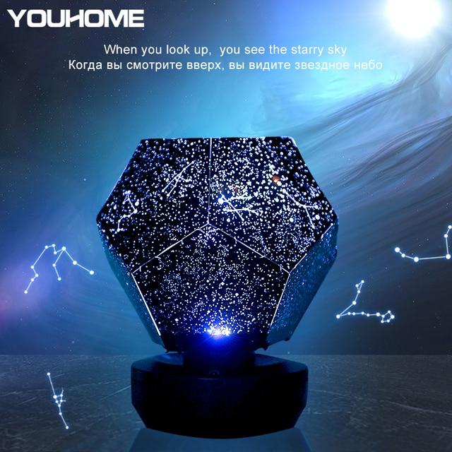 Planetario casero original LED Stary Night Lamp dreamcatcher 3d lamp for Kids bedroom Constellation Projection home planetarium