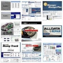 2020 DHL freies schiff Alldata 10,53 auto reparatur software mitchell auf demand2015 + AutoData + Alle daten + ElsaWin + lebendige 24 in 1TB HDD usb3.0