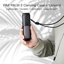 Portable FIMI PALM 2 Protective Case Cover Handheld Gimbal Storage Box with Lanyard for FIMI PALM 2 Camera Accessories