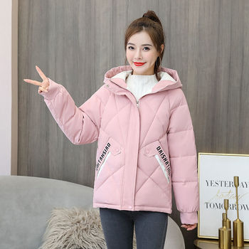 New Winter Women Coat Parkas Solid Hooded Jacket 2020 Casual Zipper Plus Size Loose Thick Outerwear Long Sleeve Coat oeak women s autumn and winter hooded jacket long sleeved thick coat warm side zipper jacket coat solid color long coat 2019