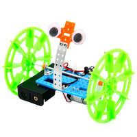 Roboter Balancing auto Kunststoff Technologie DIY Montieren Spielzeug Berufe Pädagogisches Innovation IQ Spielzeug Fantasie & Sci-fi Kid Geschenk.