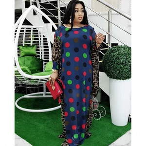 Image 1 - 2020 Length 150cm 2 Piece Set African Dresses For Women Africa Clothing Muslim Long Dress Length Fashion African Dress For Lady