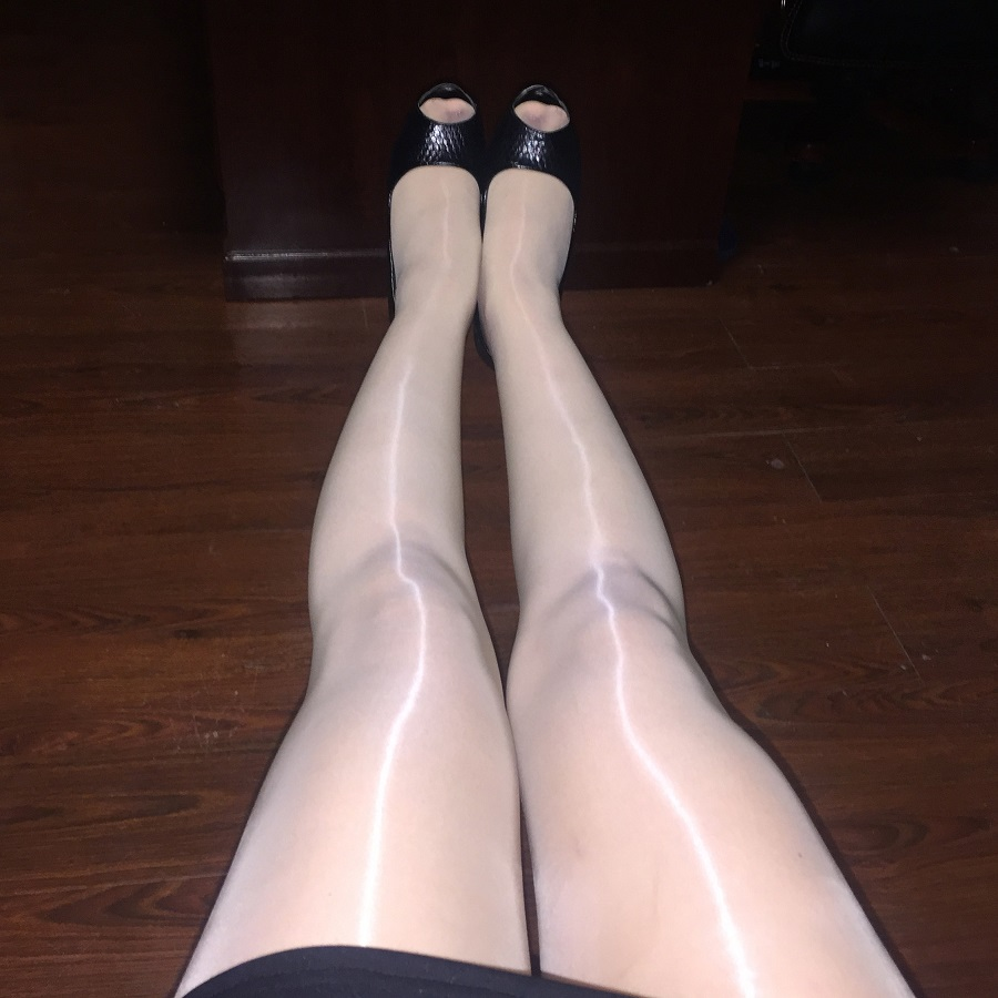 Spring Super Shiny Pantyhose Sexy Oil Light Fat Mm Fat Shiny Socks Woman