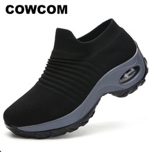 COWCOMs  Overshoes Large Size Low Upper Canvas Shoes, Air Cushions, Breathable Shoes Mountain Climbing Outdoor Shoes CYL 1839