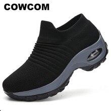 Cowcomのオーバーシューズ大サイズ低アッパーキャンバスシューズ、エアクッション、通気性の靴登山アウトドアシューズCYL 1839