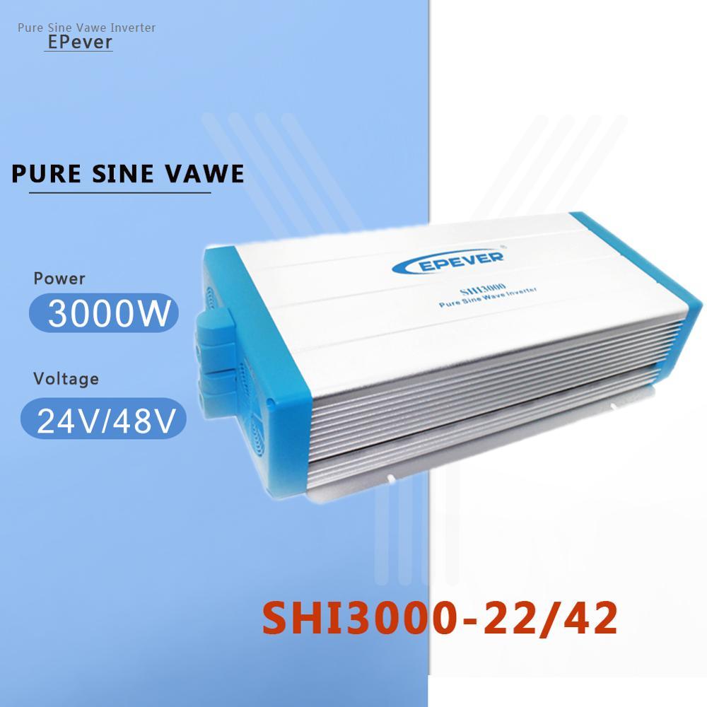 EPever Inverter 3000W Power 24 V/48 V DC Konvertieren zu 220V AC Intelligente und Digitale Inverter spannung Konverter für den heimgebrauch
