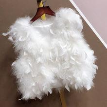 Меховой женский короткий жилет popodion теплые жилеты chd20335