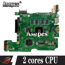 Akemy UNTUK For Asus X101C X101CH X101CH Motherboard Laptop 2 Core CPU REV2.3/2.0 100% Diuji Papan Utama(China)