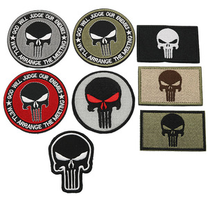 2020 New Punisher's Armband Tactical Army Badge Backpack Embroidery Individualized Patch Military Badge(China)
