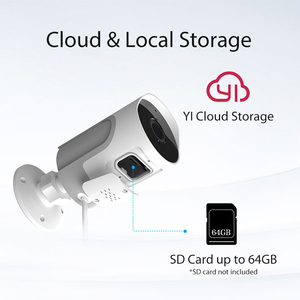 Image 4 - YI הרבה 1080P חיצוני מצלמה עמיד IP אלחוטי מצלמת ראיית לילה אבטחת מעקב מצלמה יי ענן זמין האיחוד האירופי
