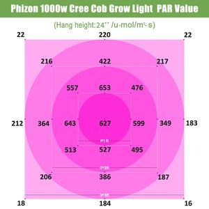 Image 5 - Phlizon 1000 watt usine lampe ÉPI à spectre complet led élèvent la lumière pour plantes dintérieur système hydroponique jardin lumières